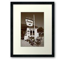 Route 66 - Paris Springs Missouri Framed Print