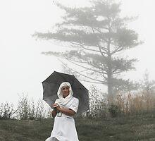 new age nun in fog by KreddibleTrout