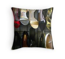 """Choose The Shoes"" Throw Pillow"