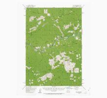 USGS Topo Map Oregon Blue River 282260 1955 62500 Kids Tee
