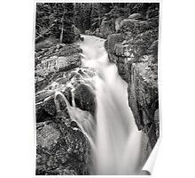 Creek on Beartooth Pass Poster