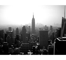 Gotham Skyline Photographic Print