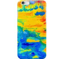 Color Splash Abstract iPhone Case/Skin