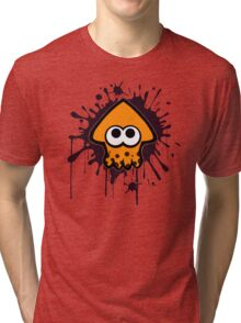 Splatterhouse - Orange Squid Tri-blend T-Shirt