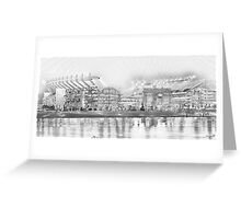 Battleground - Heinz Field Greeting Card