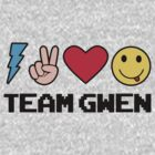 Team Gwen Emoji Emoticon Grey by iceteeart