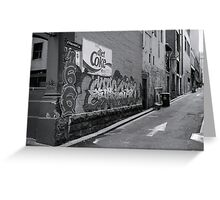 Laneways - Hayward Greeting Card