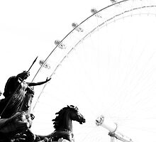 Boudica Takes on London by LadyThegn
