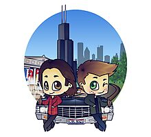 Winchesters in Chicago Photographic Print