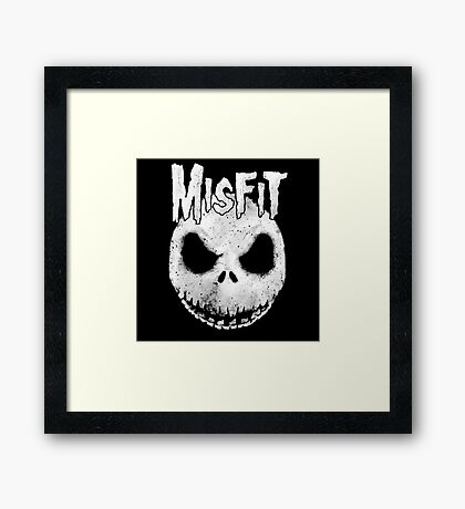 The Misfit of Christmas Town Framed Print