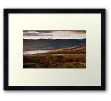 First Light over Loch Tay, onto Ben Lawers, Scotland Framed Print