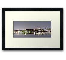 Jones Bay High Framed Print