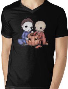 Halloween Helper Mens V-Neck T-Shirt