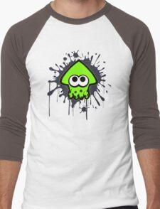 Splatterhouse - Green Squid Men's Baseball ¾ T-Shirt