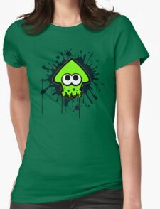 Splatterhouse - Green Squid Womens Fitted T-Shirt