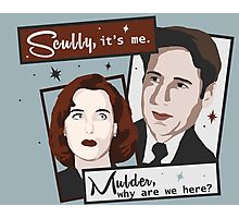 X-files-isms Photographic Print