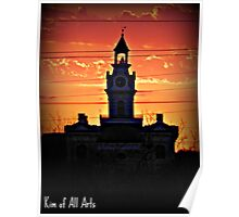 Sunset Courthouse  Poster