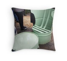 Unusual Chair & Table Throw Pillow
