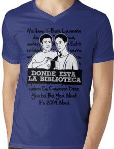 La Biblioteca   Community Mens V-Neck T-Shirt