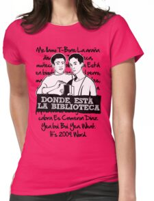 La Biblioteca   Community Womens Fitted T-Shirt