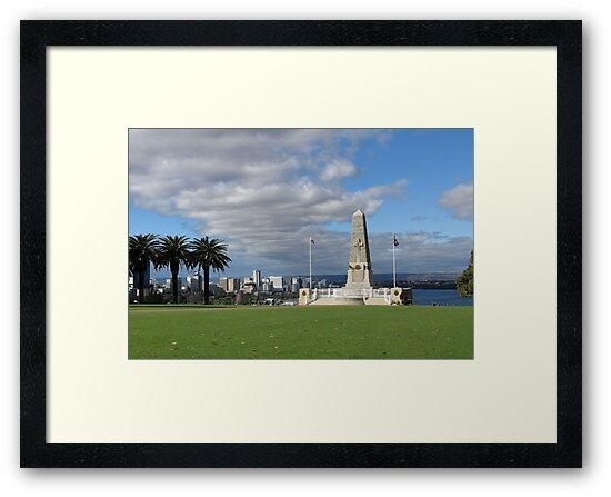 Perth - War Memorial by DPalmer