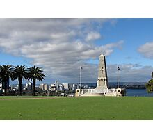 Perth - War Memorial Photographic Print