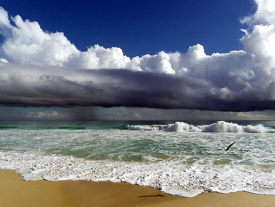 Storms Rolling In Across The Sea by Angie66