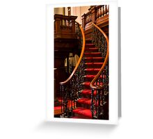 0144 Stair Detail Greeting Card