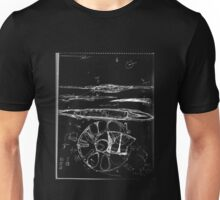 Thought on Electromagnetic Induction and Flight (black ) Unisex T-Shirt