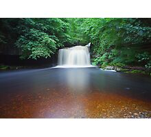 10 Minutes At West Burton Falls. Photographic Print