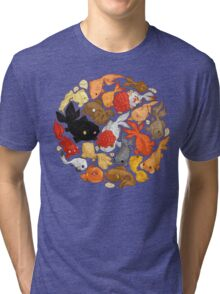 For The Love Of Goldfish Tri-blend T-Shirt