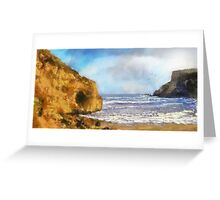 Cave by the Sea Greeting Card