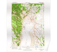 USGS Topo Map California Fort Bidwell 297484 1962 62500 Poster