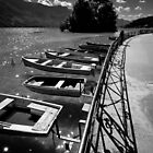 Docked (B&W) by Laurent Aphecetche
