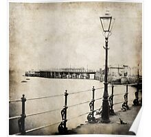 Edwardian Quay and Pier Poster