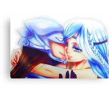 Blue Eyed Maiden + Kaibaman Canvas Print