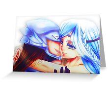 Blue Eyed Maiden + Kaibaman Greeting Card