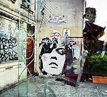 lou's graffiti by monk-alainalele