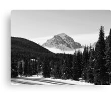 Mount Temple Canvas Print