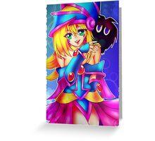 Dark Magician Girl + Kuriboh Greeting Card