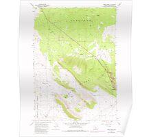 USGS Topo Map Oregon Horse Ridge 280246 1967 24000 Poster