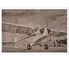 Piper Cub NC88073 Photographic Print