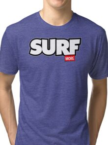 Surf More Tri-blend T-Shirt