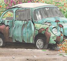 1960's Subaru by Lyndsey Hale