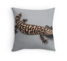 Goliath The Gila Monster Throw Pillow