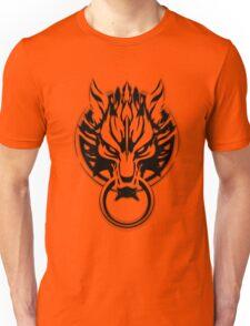 Cloud Strife's Wolf Emblem (Black) Unisex T-Shirt