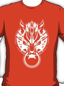 Cloud Strife's Wolf Emblem (White) T-Shirt