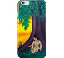 The Woman in the Woods iPhone Case/Skin