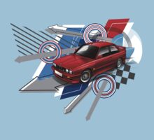 BMW M3 T-Shirt by Autographics