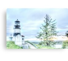 Lighthouses Of Washington State Canvas Print